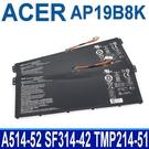 ACER AP19B8K . 電池 Aspire 5 A514-52 A514-53 A514-54 A514-54G A515-56G Chromebook 314 C933