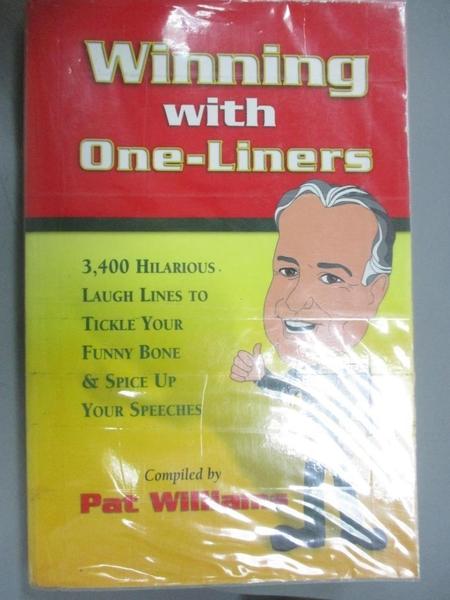 【書寶二手書T1/原文小說_QKV】Winning With One-Liners-3,400 Hilarious..._Williams