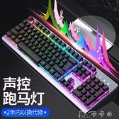 鍵盤台式電腦筆記本外接USB有線家用金屬薄膜辦公 【全館免運】