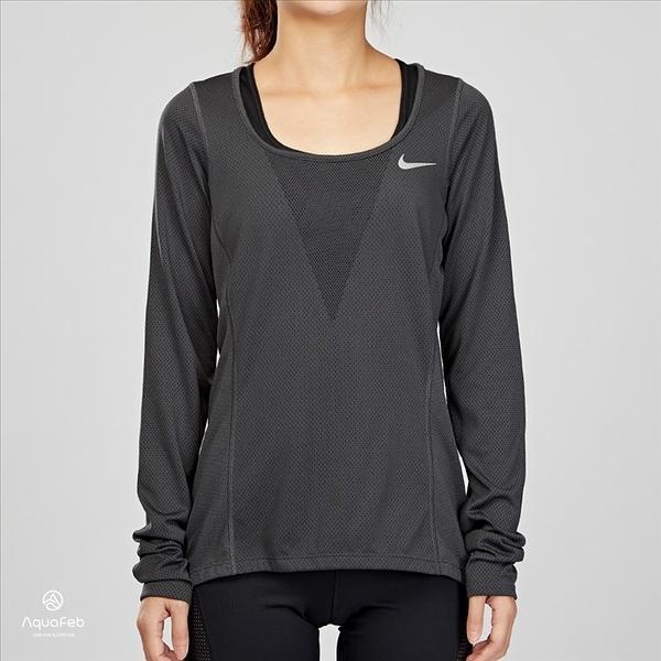 Nike Zonal Cooling 灰色 女子 運動 長袖 831515-010
