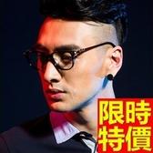 眼鏡架-輕盈舒適時尚全框男鏡框4色64ah31【巴黎精品】