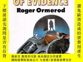 二手書博民逛書店The罕見Weight Of EvidenceY256260 Roger Ormerod Linford (l