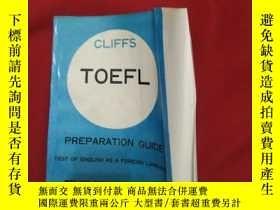 二手書博民逛書店cliffs罕見toefl prepapation guifeY179070 cliffs toefl pre
