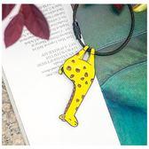 鑰匙扣 貓熊兔子狐貍鑰匙圈環精美掛件