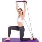 拉伸帶 瑜伽器材普拉提棒健身棒家用多功能彈力繩拉伸帶背部訓練拉力神器