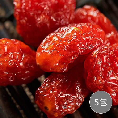 【瘋神邦】台灣新鮮水果乾-聖女番茄120g/包x5包裝