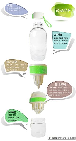 ^聖家^蛙牌無毒多用途鮮榨汁玻璃魔力瓶 LM-504N【全館刷卡分期+免運費】