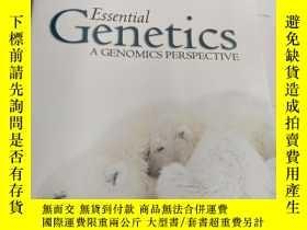 二手書博民逛書店genetics罕見a genomics perspecyive