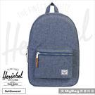 Herschel 後背包 藍色布蕾 金拉鍊系列15吋電腦後背包 Settlement-1570  MyBag得意時袋