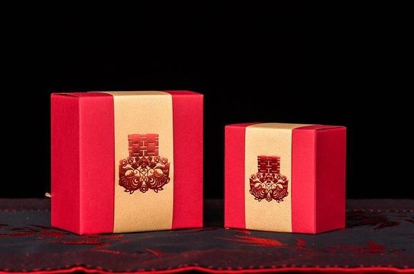 結婚喜糖盒/中式個性婚禮喜糖盒子