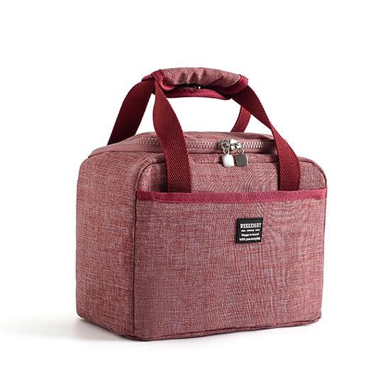 保溫袋 保冷袋 便當袋 手提袋 收納包 飯盒袋 牛津布  手提包 飯盒袋 刷色加厚保溫袋【L131】MY COLOR