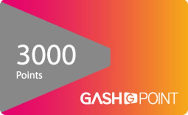 【遊戲點數卡 可刷卡】☆ GASH樂點 GASH 3000點 ☆【營業時間內可立即發送序號】