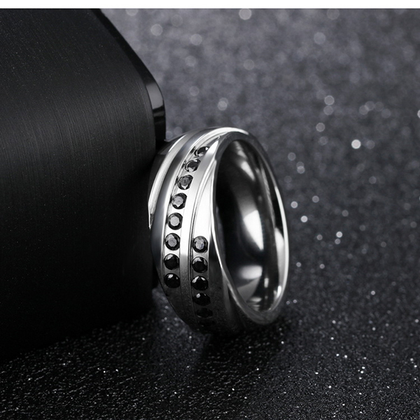 316L西德白鋼 中性風格 不生鏽抗過敏 搭配單品 設計 禮物推薦 單個價【BKS572】Z.MO鈦鋼屋