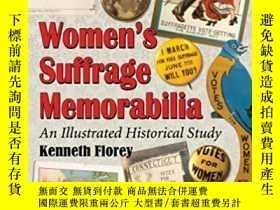 二手書博民逛書店Womens罕見Suffrage Memorabilia: An