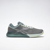 Reebok Nano 9 [FU6831] 女鞋 多功能 訓練 運動 慢跑 舒適 輕巧 靈活 緩衝 機動 柔軟 灰 綠