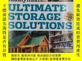 二手書博民逛書店Family罕見Handyman Ultimate Storage SolutionsY19139 the