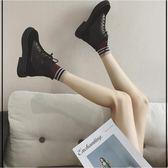 馬丁靴 馬丁靴女新款春秋季小短靴冬英倫風平底學生韓版百搭 LN6155 【雅居屋】