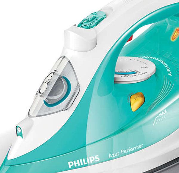 《限時限量特賣+贈科技纖維布》Philips GC3811 飛利浦 不沾黏+主動式抗鈣+強力蒸氣 熨斗