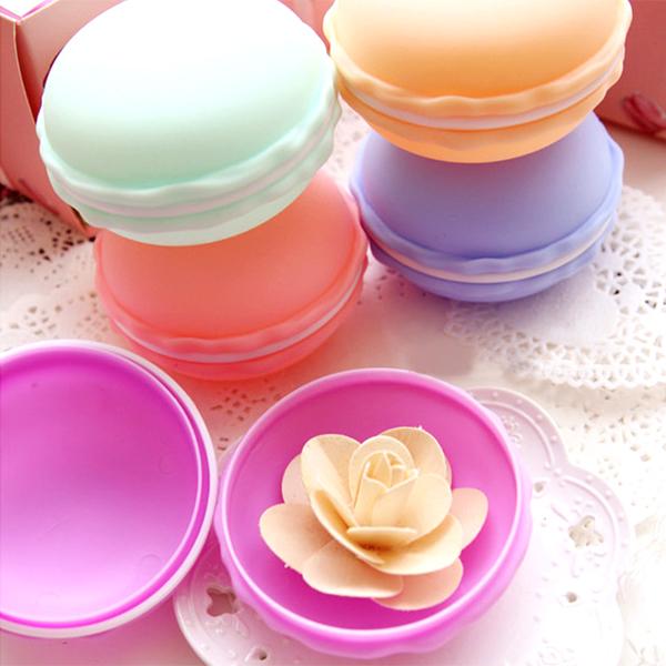 【BlueCat】法國甜點熊馬卡龍飾品小物迷你收納盒