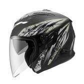 ZEUS瑞獅安全帽,ZS-613B,AJ5/消光黑銀