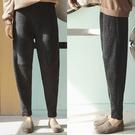 休閒褲-好版型顯瘦針織香蕉寬管/設計家 XK335