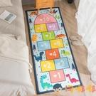 加厚床邊地毯防摔墊臥室客廳飄窗榻榻米兒童卡通地墊【淘嘟嘟】