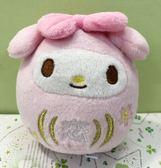 【震撼精品百貨】My Melody_美樂蒂~Sanrio 美樂蒂玩偶吊飾-達摩#11466