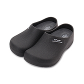C&K PVC包頭廚師鞋 黑 女鞋 鞋全家福
