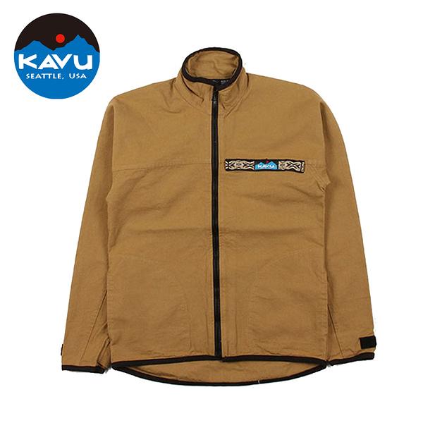 【日本限定款】西雅圖 KAVU F/Z Throw Shirts 襯衫式外套 卡其色 #307