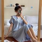 新款網紅公主風睡裙甜美可愛日系睡衣女夏季薄款家居服ins風 完美居家