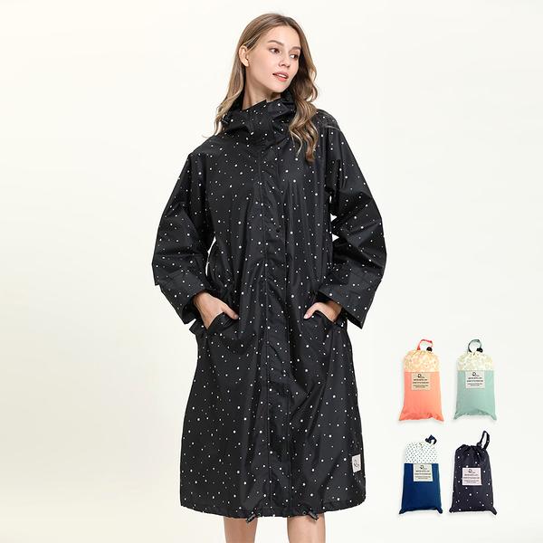 【RainSKY】長版布勞森-雨衣/風衣 大衣 長版雨衣 連身雨衣 輕便型雨衣 超輕質雨衣 日韓雨衣+1