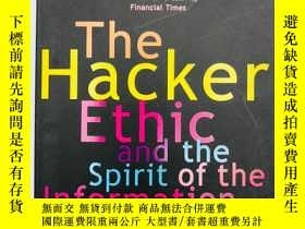 二手書博民逛書店The罕見Hacker Ethic and the Spirit