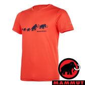 【MAMMUT 長毛象】男 QD AEGILITY 圓領短袖T恤『鋅紅』1017-10062 彈性伸縮 戶外 旅遊 輕便