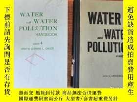 二手書博民逛書店WATER罕見and WATER POLLUTION HANDB