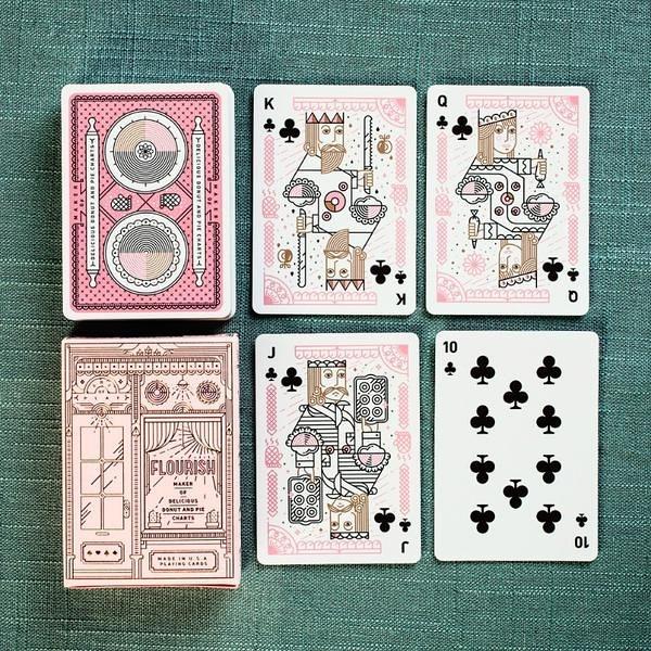 【USPCC撲克】FLOURISH Playing Cards