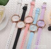 韓版森繫手錶女中學生復古學院風簡約潮流小清新錶盤閨蜜姐妹一對  朵拉朵衣櫥
