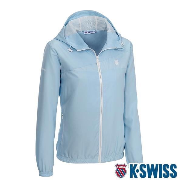 K-SWISS Ct Solid Jacket 2風衣外套-女-水藍