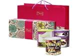 【康健生機】雙喜蜜意禮盒(美味果仁+美麗果蔓越莓+陽光黑棗)--附贈禮盒+禮袋
