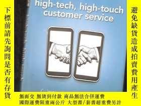 二手書博民逛書店high-tech,罕見high-touch customer