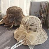 日系女夏天出游防曬遮陽韓版百搭純色可折疊沙灘帽 JA821『時尚玩家』