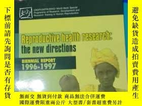 二手書博民逛書店Reproductive罕見health research:th