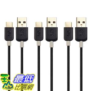 [8美國直購] 傳輸線 Cable Matters 1-Pack Slim Series USB C Cable (USB C to USB) in Black 3.3 10 E2C
