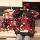 圣誕節情侶裝冬季毛衣女寬鬆外穿2020新款學生慵懶風針織衫上衣潮雙11優惠秒殺價
