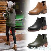 全館85折短靴 秋冬季馬丁靴女英倫風復古99購物節