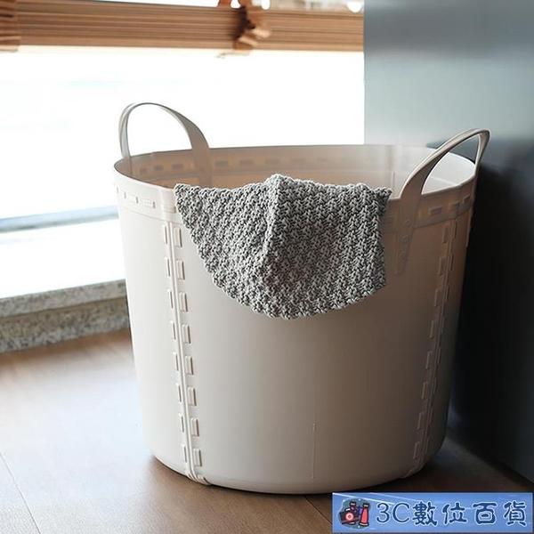 臟衣籃洗衣服臟衣服收納筐衣物家用放玩具塑料桶子籃簍北歐大號 WJ3C數位百貨