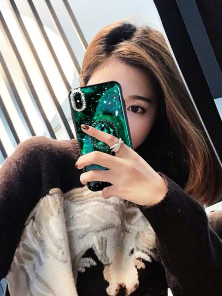oppor9s手機殼女款鑲鑚全包毛絨r9plus保護套潮女r9潮款帶鑚oppo