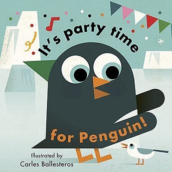 Little Faces:It's Party Time For Penguin 變臉操作書:企鵝的派對時間
