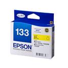 【奇奇文具】愛普生EPSON T133450 NO.133 黃色 原廠墨水匣
