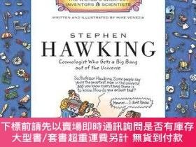 二手書博民逛書店Stephen罕見Hawking:Cosmologist Who Gets a Big Bang Out of t