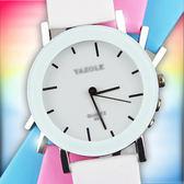 [新款] 韓版 時尚 創意 螺旋 指針 禮物 流行 韓式 男女 學生 搭配 時尚 情侶 手錶